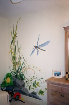 The Big Bug Room, Dragon Fly Corner Scene