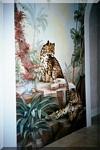 Leopard Key Mural